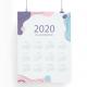 Calendarios tipo cartel