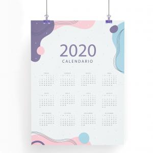 calendarios tipo cartel 29,7x42cm