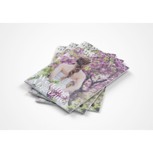 Revistas económicas grapadas color A5