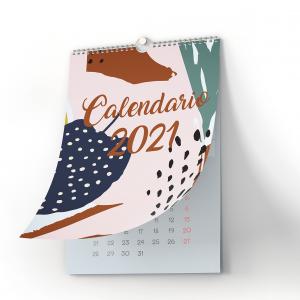Calendarios de pared con wire-o superior